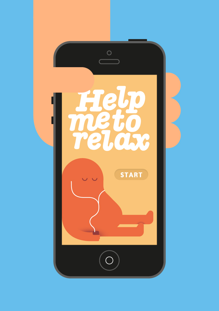 HelpMeToRelax iPhone App