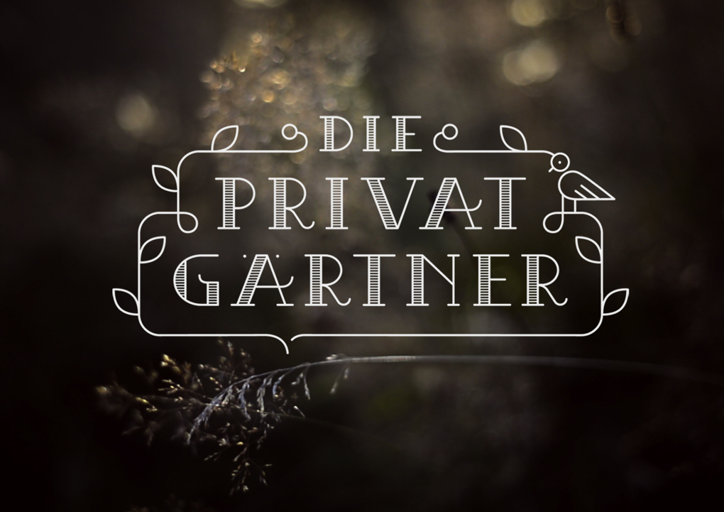 The Private Gardener's new logo