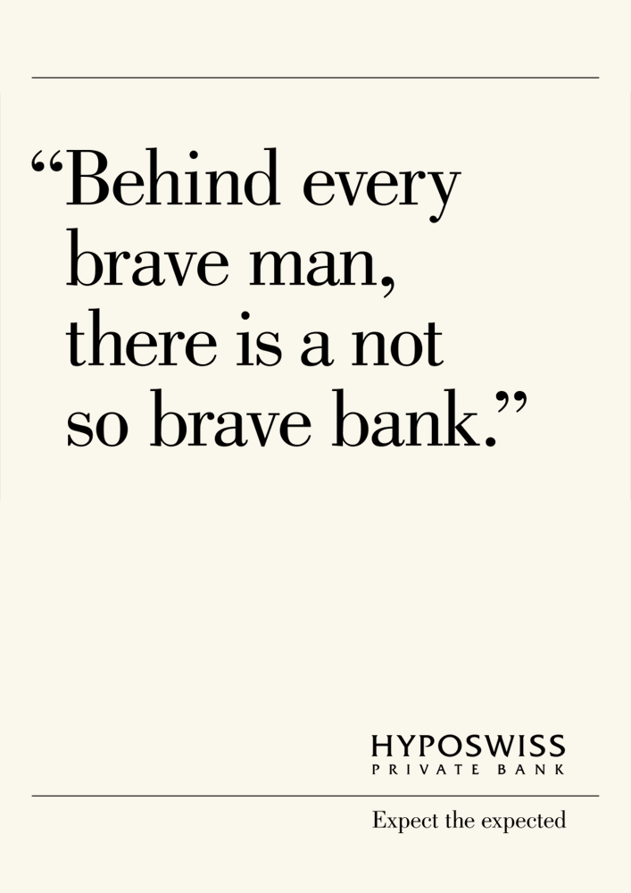 Hyposwiss declares the essence of banking